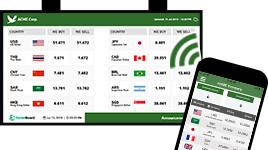foreign exchange rate display board- ForexBoard mobile app